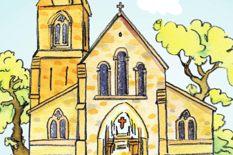 Pourquoi y a-t-il une croix dans les églises ?