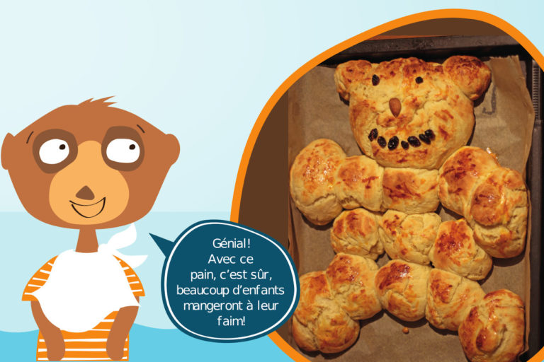 Cuisine: pain des ours