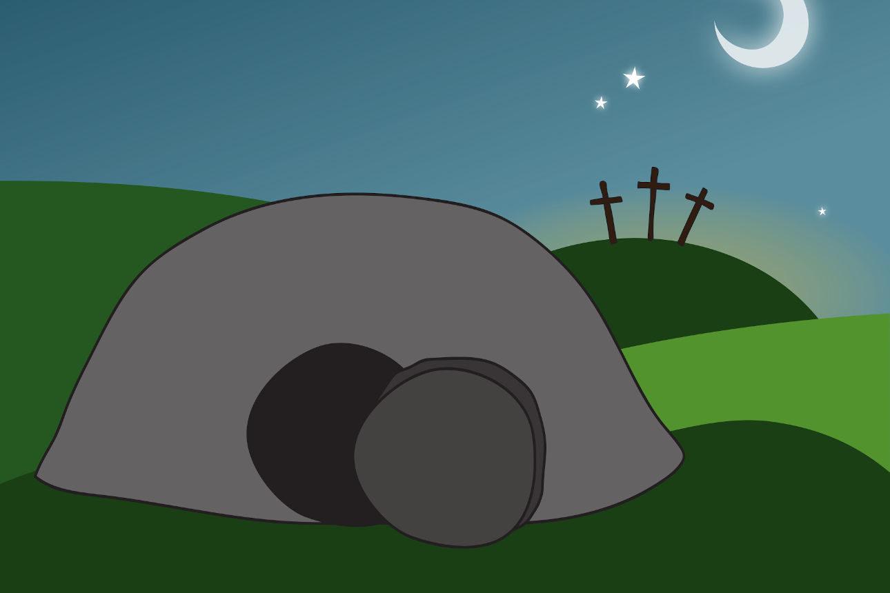 Pâques, le tombeau vide