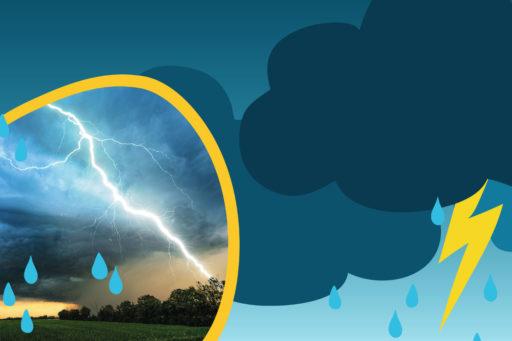 Que se passe-t-il lors d'un orage ?